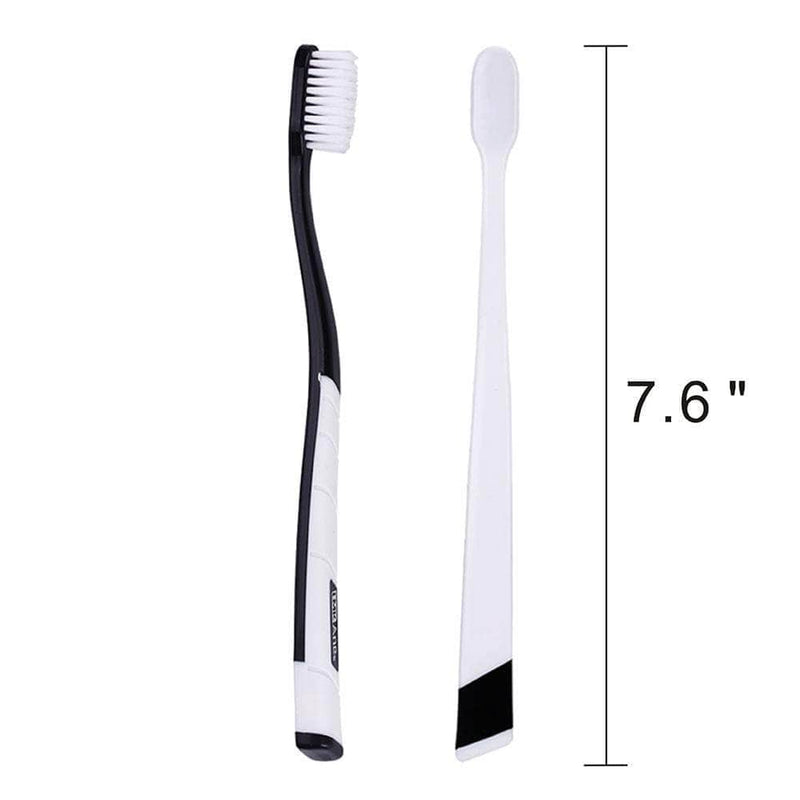 2pc Soft Bamboo Charcoal Toothbrushes