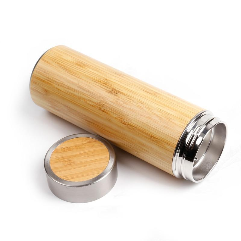 Bamboo SS Thermos Flask