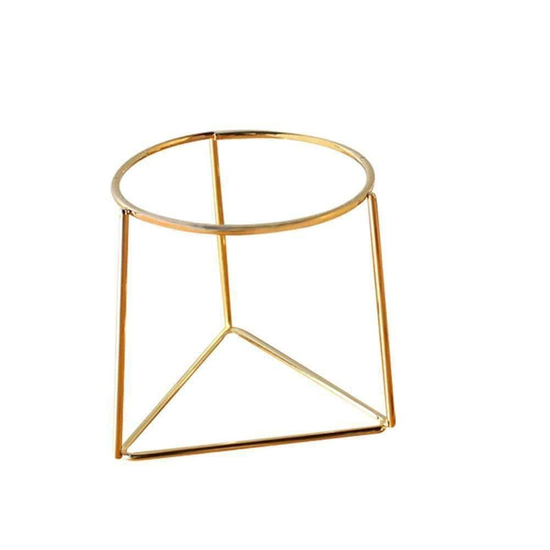 Geometric flower pot stand