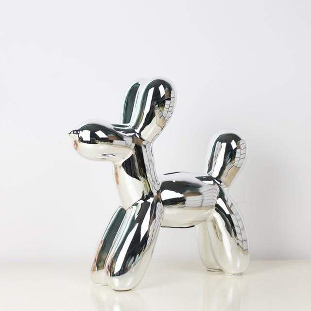 Modern Balloon Dog Ornament
