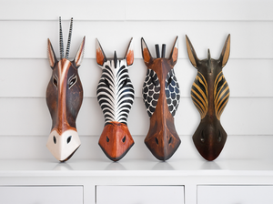 African Animal Mask - Giraffe