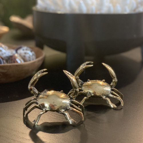 Brass Crab (Small)