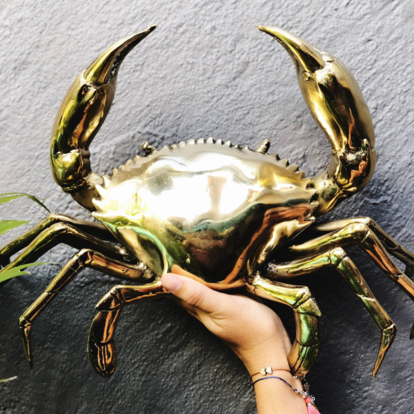 Brass Crab (Giant)