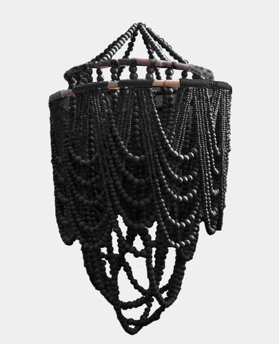 Double Beaded Chandelier