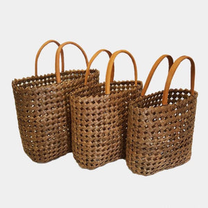 Shopper Basket - Coffee