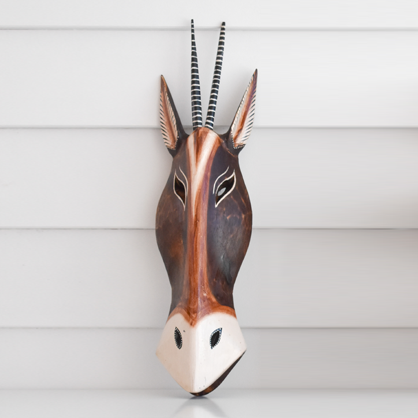 African Animal Mask - Springbok