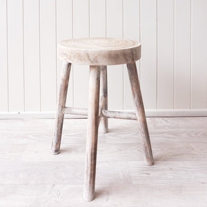Mele Timber Bar Stool