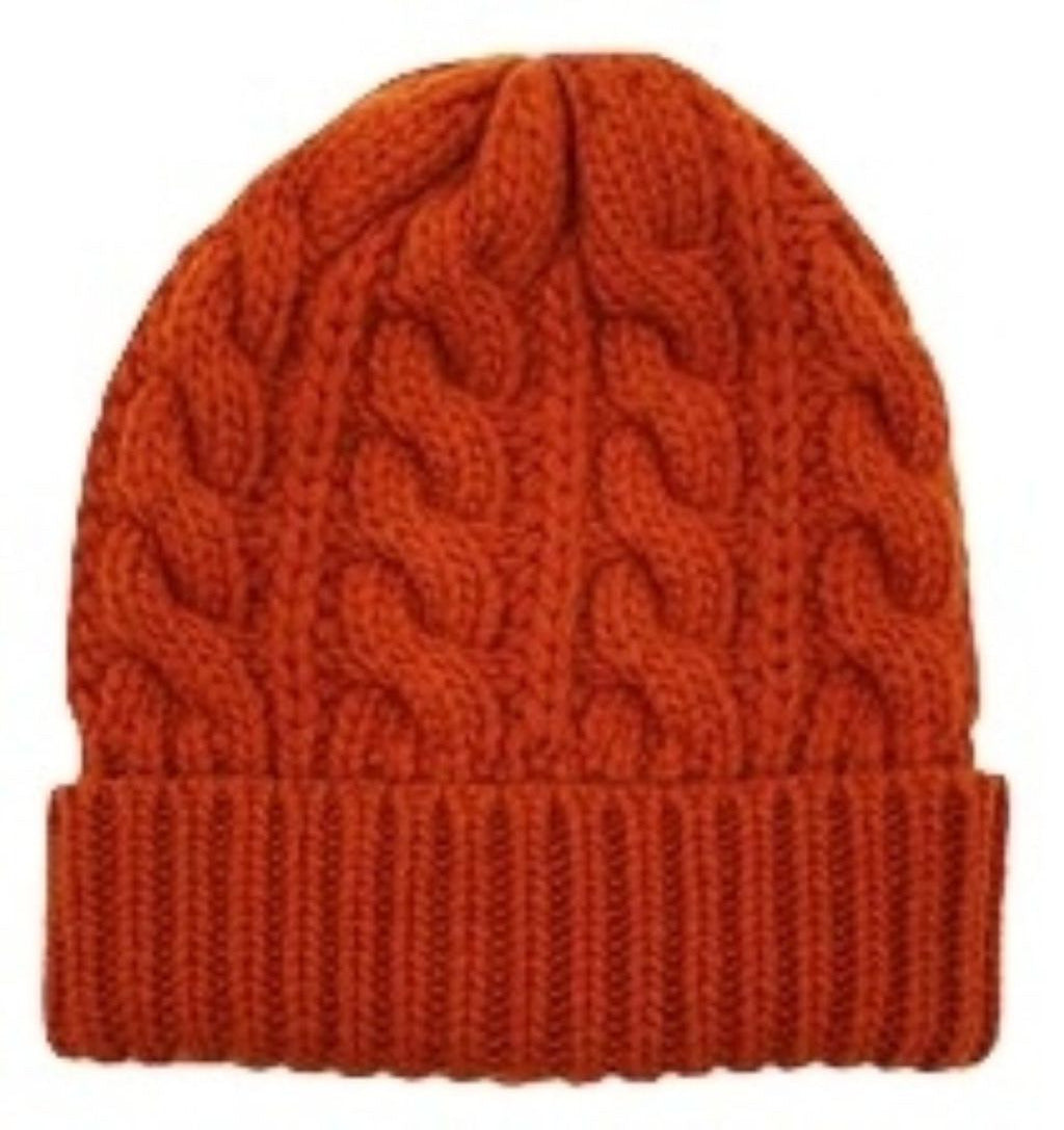 Wool Cable Beanie