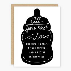 All You Need Baby Card
