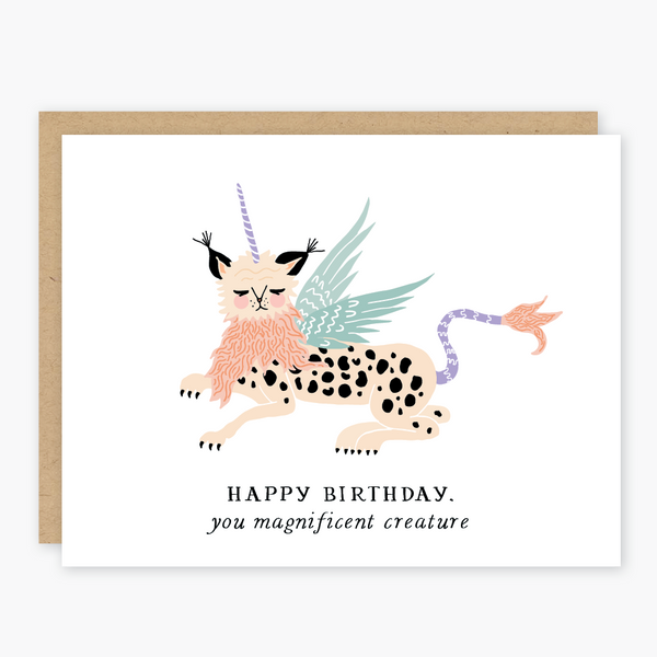 Birthday Creature Card