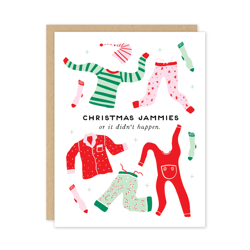 Jammies Card