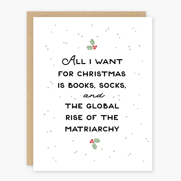 Rise of the Matriarchy Holiday Card