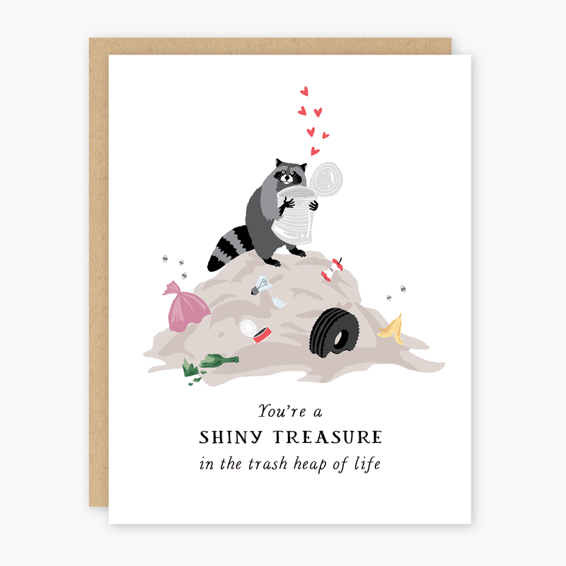 Shiny Treasure Card