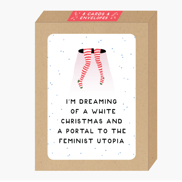Feminist Utopia Holiday Card