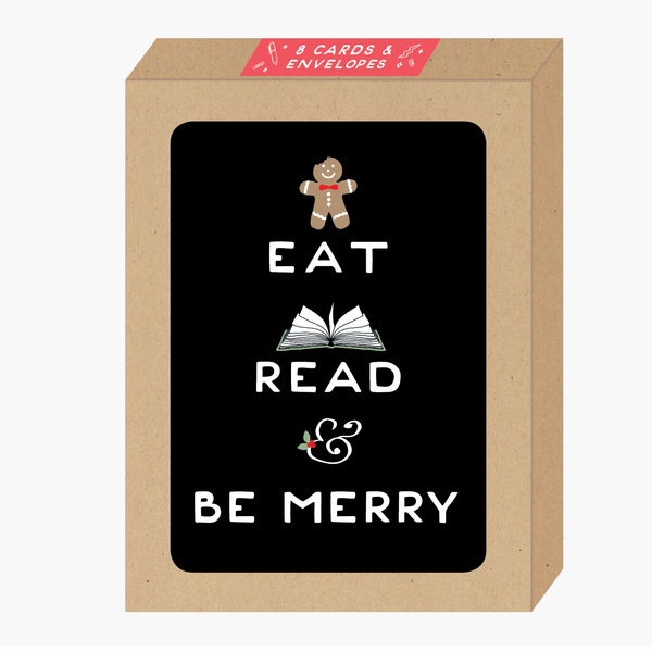Eat Read Be Merry Card