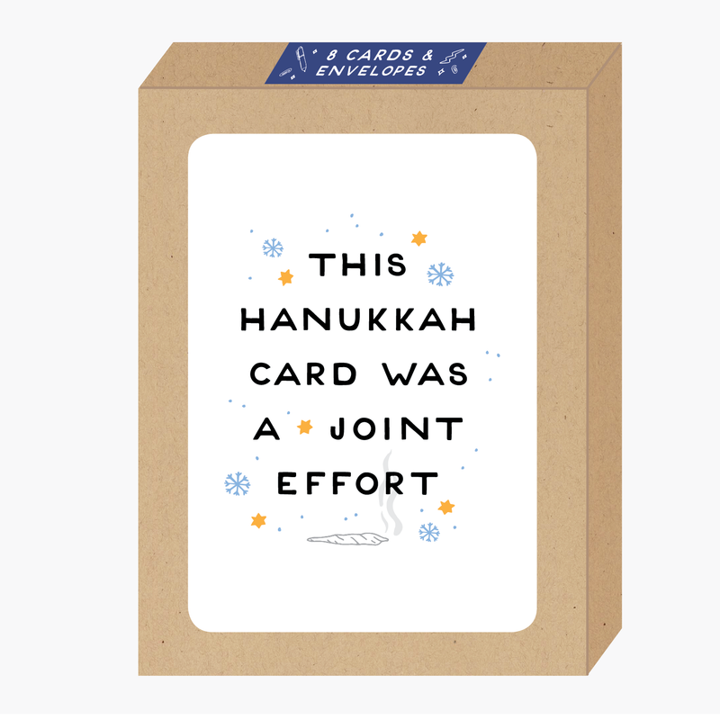 Hanukkah Joint Card