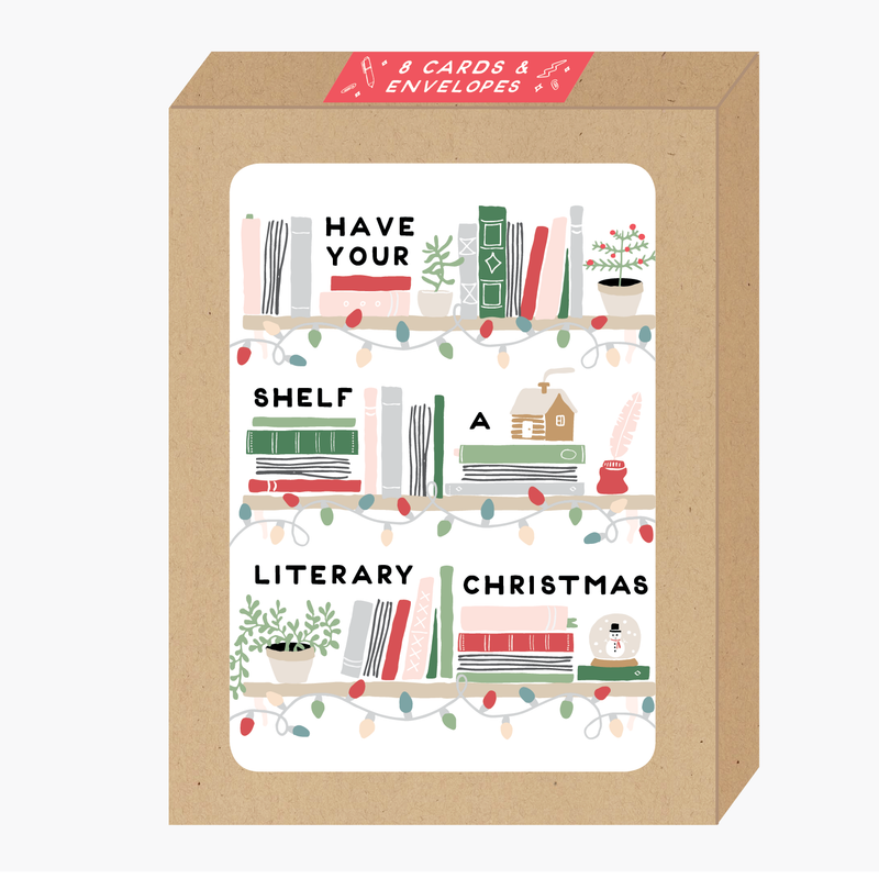 Literary Christmas Card