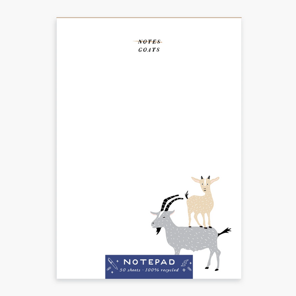 Goats Notepad