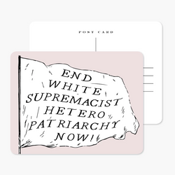 End Patriarchy Postcard