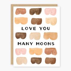 Love You Many Moons Card