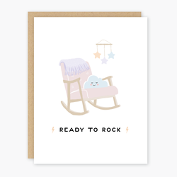 Ready to Rock Baby Card