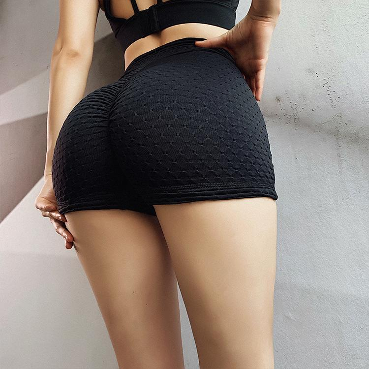 Glamaker Summer yellow high waist black shorts Women solid bodycon push up grey sports shorts Fashion female short pants bottoms