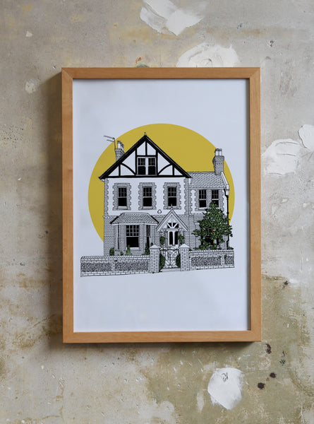 Personalised drawing of Your Home