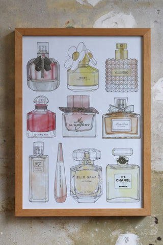 Perfume Bottle Study drawings Illustration Jitesh Patel