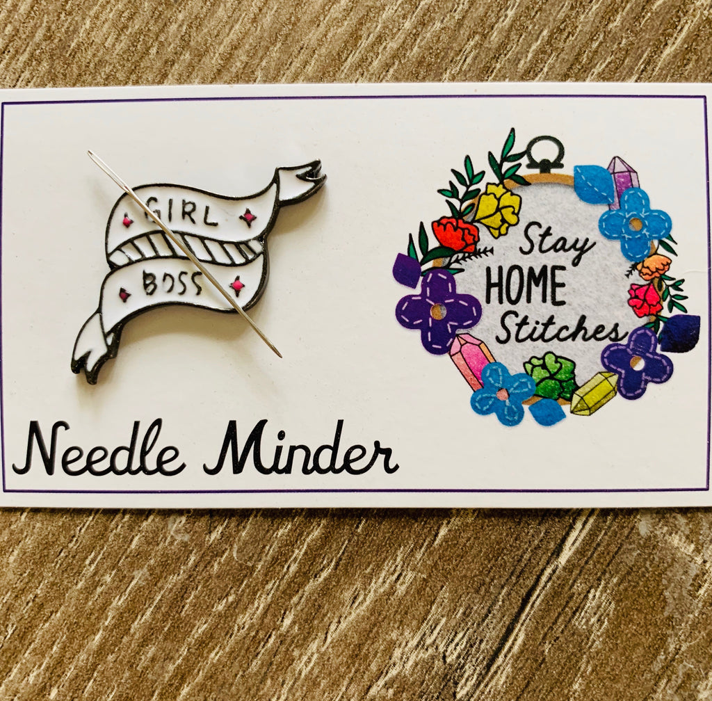 Girl Boss Needle Minder