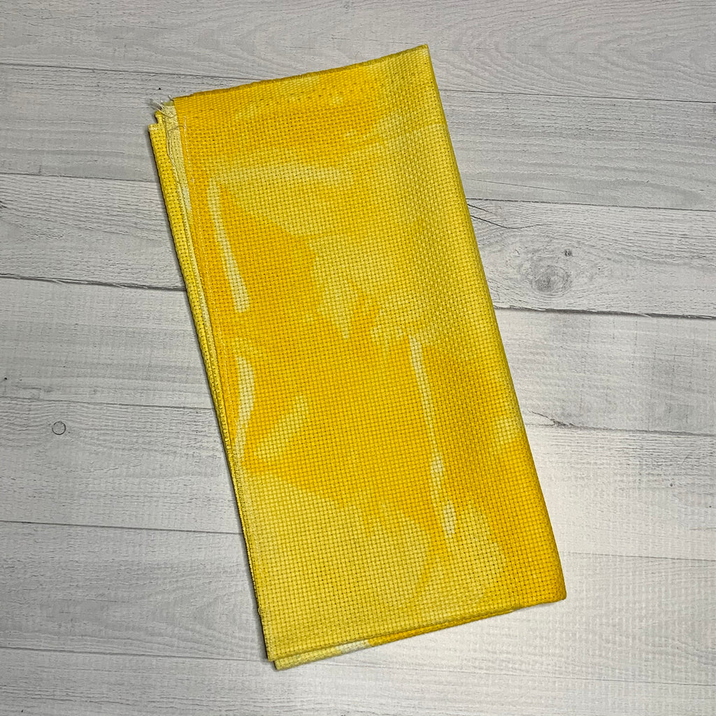 Yellow, 14 Count Aida - 19.7x19.7""