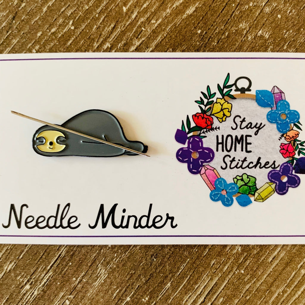 Sleeping Sloth Needle Minder