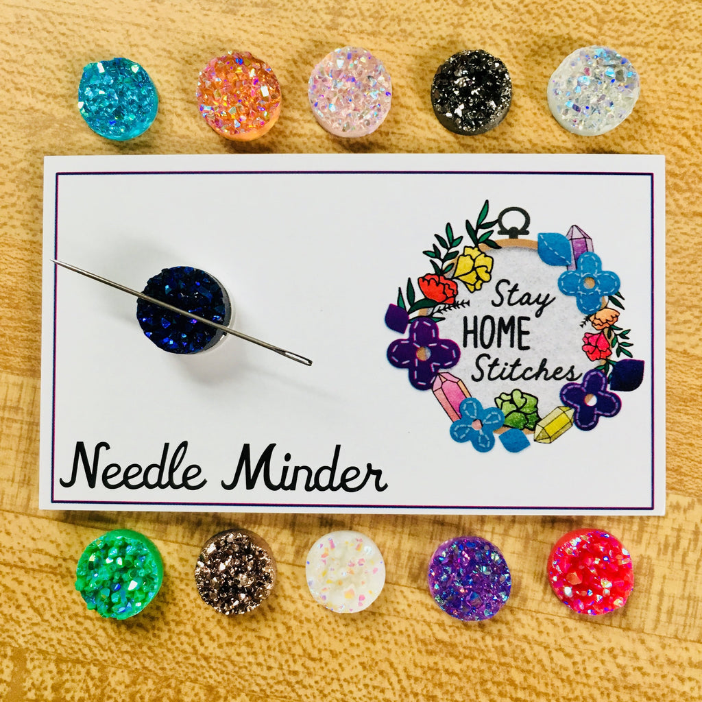 Colorful Crystal Mini Needle Minder