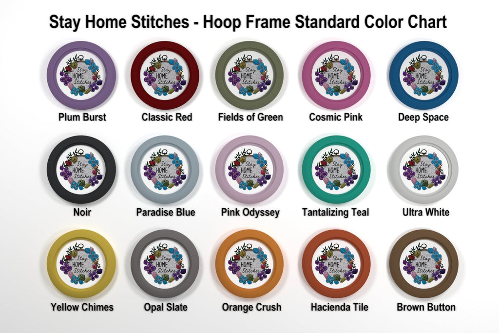 "4x6 Inch Embroidery Hoop Frame For 4x6"" Oval Hoop"