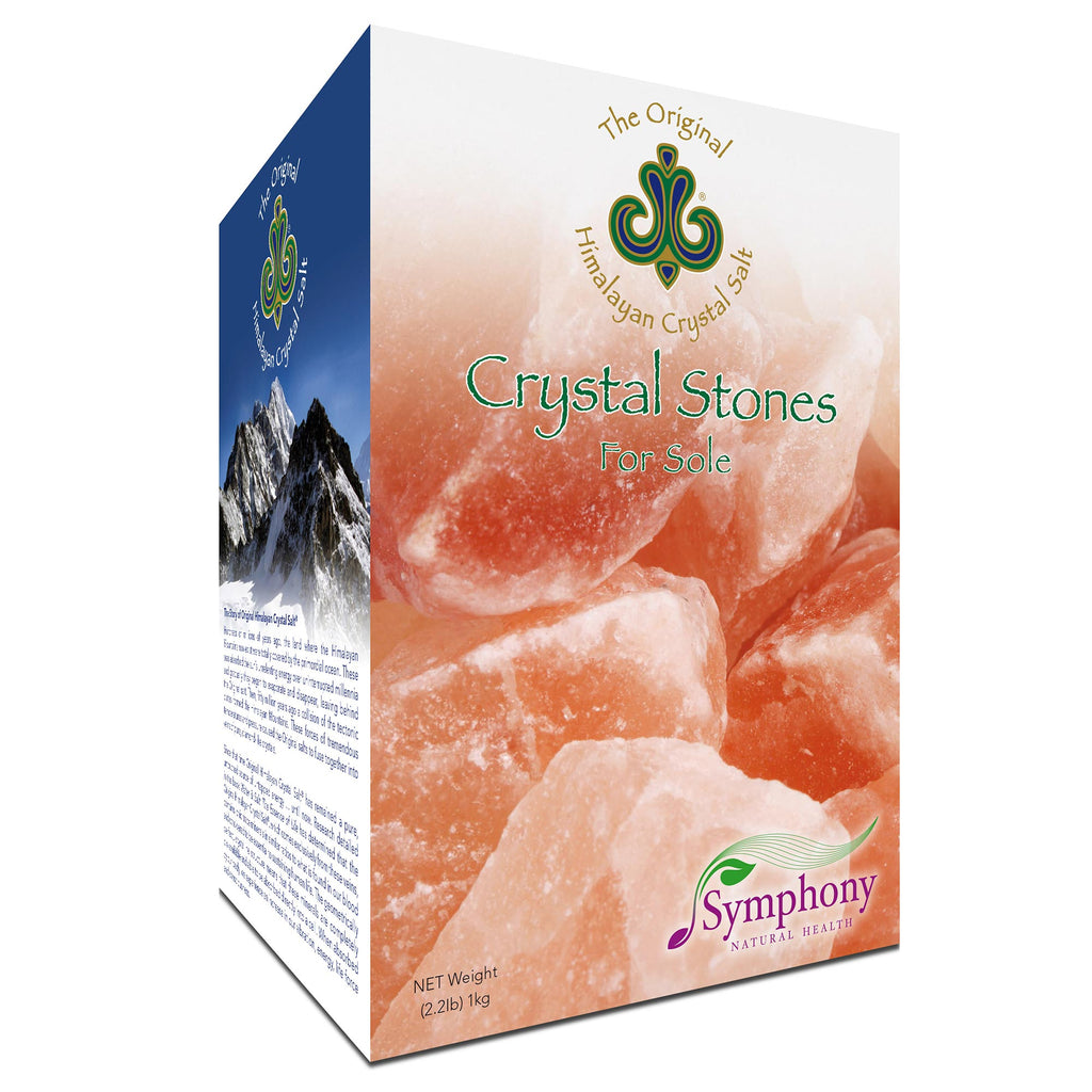 Himalayan Crystal Stones for mineral rich sole water