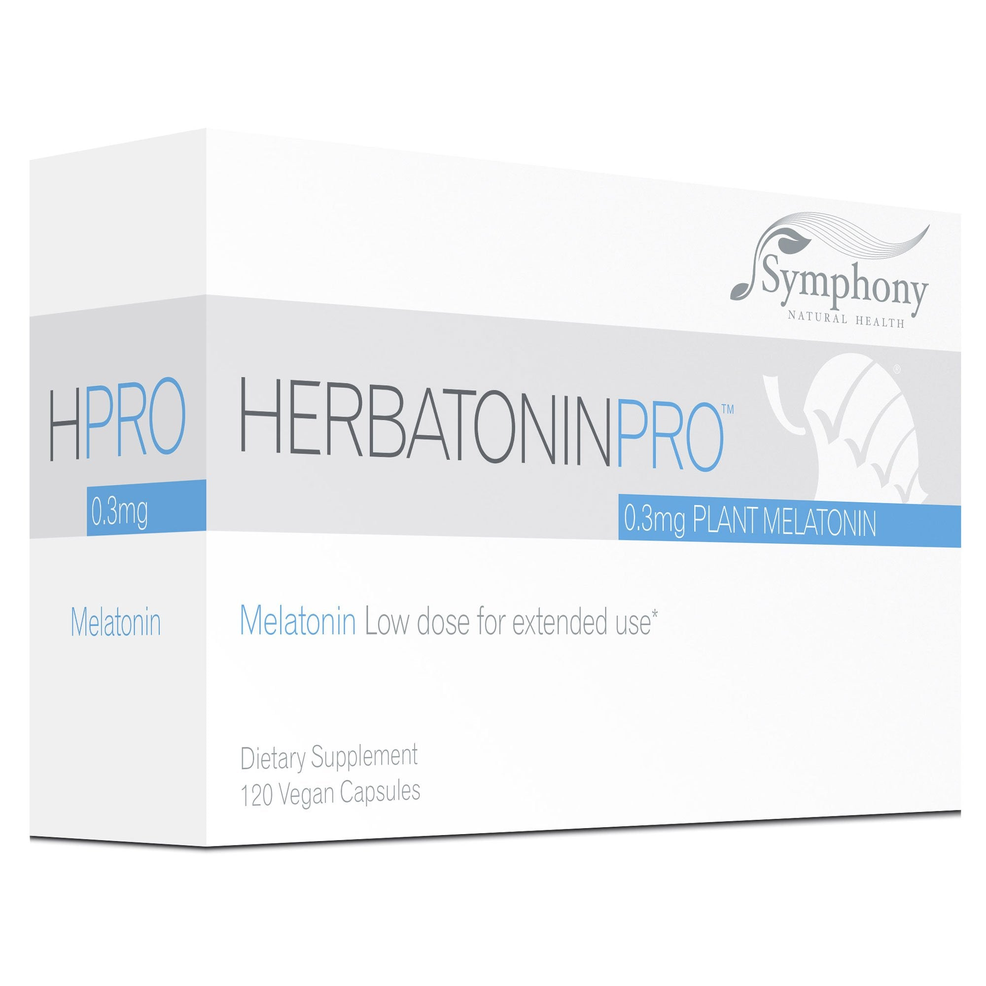 HerbatoninPRO 0.3 mg, Melatonin low dose for extended use