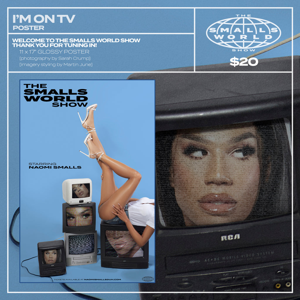 """I'M ON TV"" POSTER"