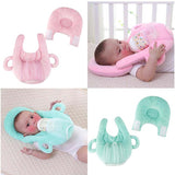 Baby portable Self feeding Nursing Pillow -Free Hand Bottle Holder