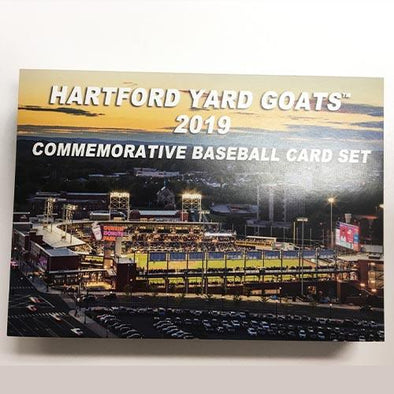 Hartford Yard Goats 2019 Team Card Sets