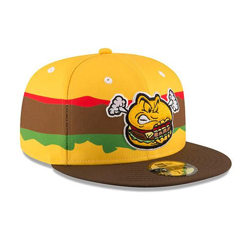 Hartford Steamed Cheeseburgers New Era 2018 On-Field Cap - (360)