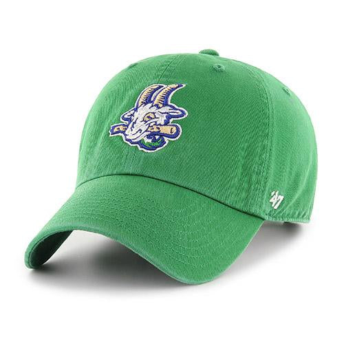 Hartford Yard Goats '47 Brand Primary Logo Cap in Kelly Green