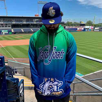 Hartford Yard Goats OT Sports Adult Sublimated Hoodie