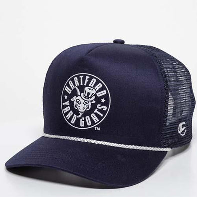 Hartford Yard Goats OC Sports Cap'N Snap Back in Navy