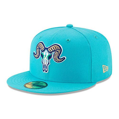 Los Chivos de Hartford 2019 On-Field Cap in Teal