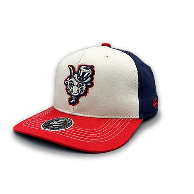Hartford Yard Goats OC Sports Founder USA Flag Snap Back