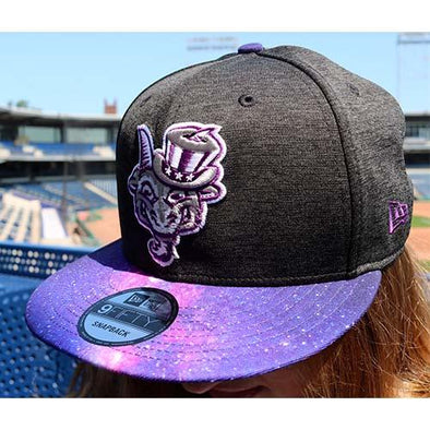 Hartford Yard Goats New Era LIMITED EDITION Galaxy Snap Back