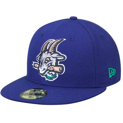 Hartford Yard Goats New Era On-Field Home Cap in Royal Blue