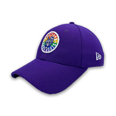 Hartford Yard Goats New Era Pride Adjustable Cap in Purple