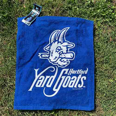 Hartford Yard Goats Rally Towel in Royal Blue