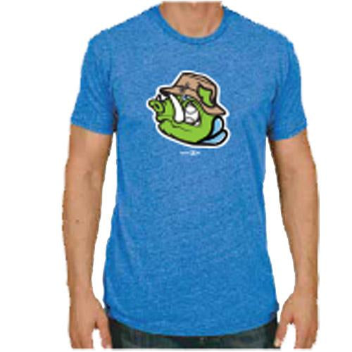 Hartford River Hogs Adult Triblend Tee in Blue