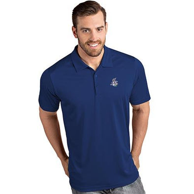 Hartford Yard Goats Antigua Primary Polo in Royal Blue